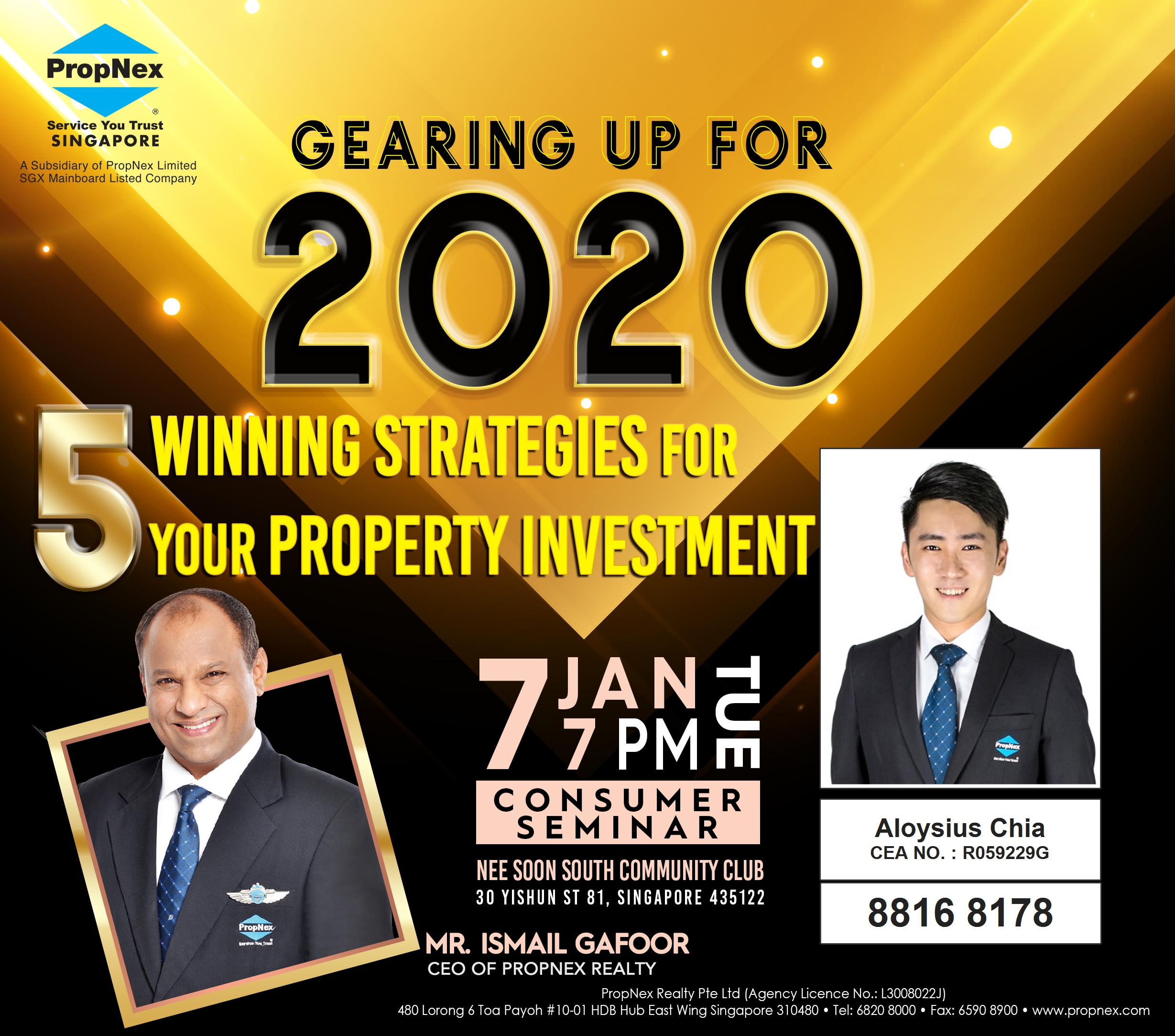 Gearing Up For 2020: 5 Winning Strategies For Your Property Investment